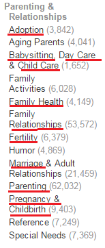 AZ-Parenting-Category-Screenshots