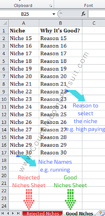 Good-Niches-Excel-Shet